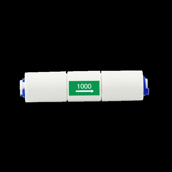 Durchflussbegrenzer Flow 1000 für Osmoseanlagen