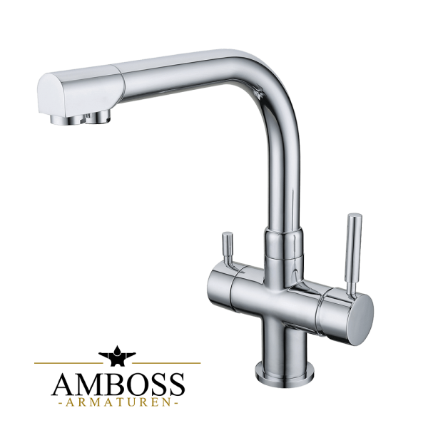 3 Wege Armature Aqua Top für Osmoseanlagen