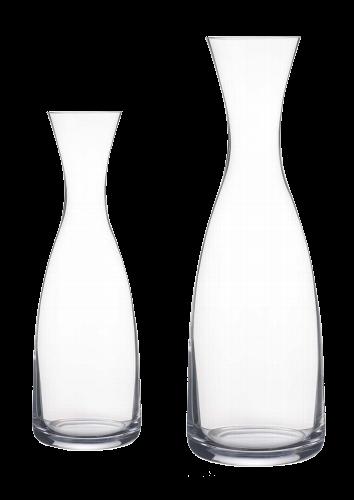 Glaskaraffe schlank 0,5 L