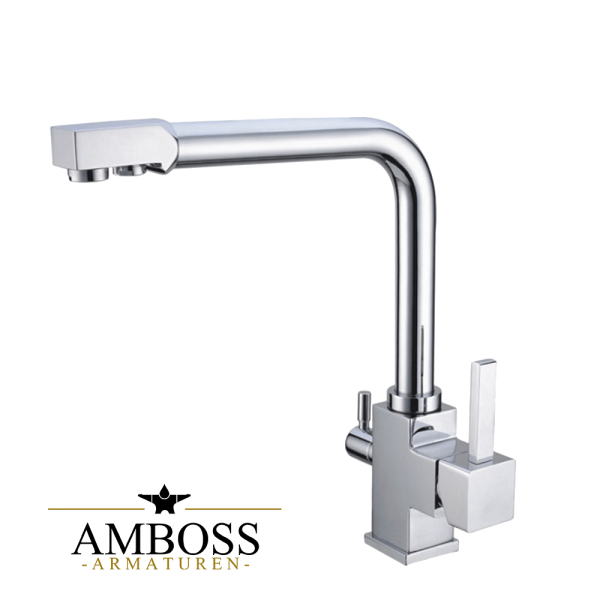 3 Wege Armatur Aqua Tech für Osmoseanlagen