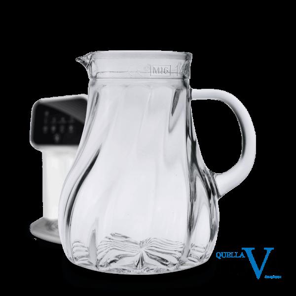 Glaskrug Salzburg für Osmosewasser 1,0 Liter