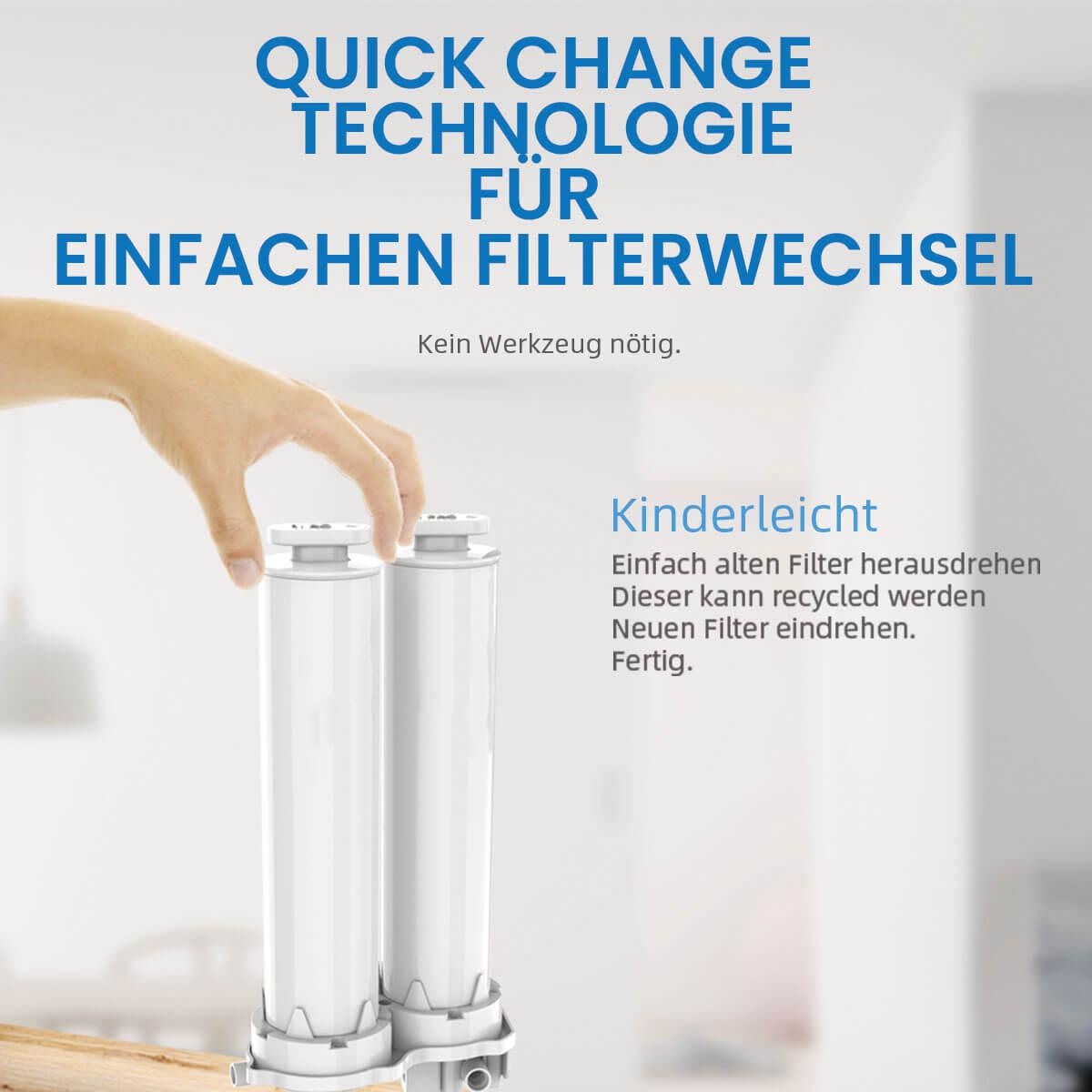 Quick Change Technologie